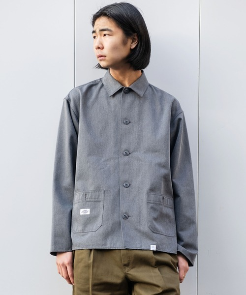 "DICKIES Ex.L/S COVERALL JACKET ""NICKEY"""
