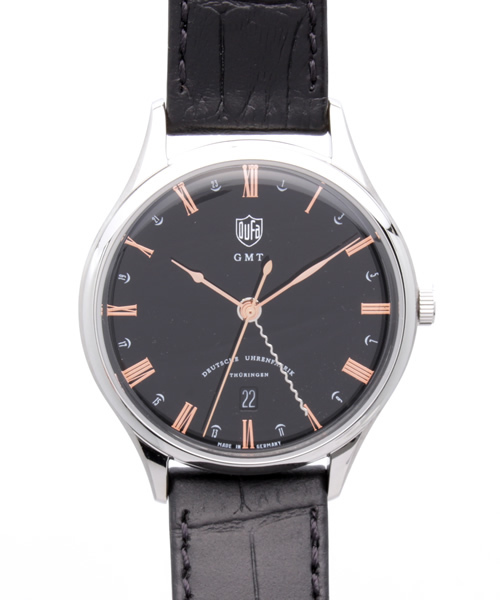 DUFA ヴァイマールGMT  メンズ 腕時計