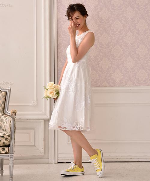 最高品質の チュールフラワー刺繍 フレアウェディングドレス(ドレス)|form forma(フォルムフォルマ)のファッション通販, ブティック イタリコ:e7eac6d1 --- pyme.pe