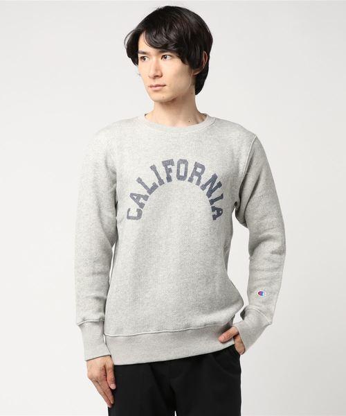 【OUTLET STORE PRICE】【Champion/チャンピオン】キャンパスクルーネックスウェットシャツ