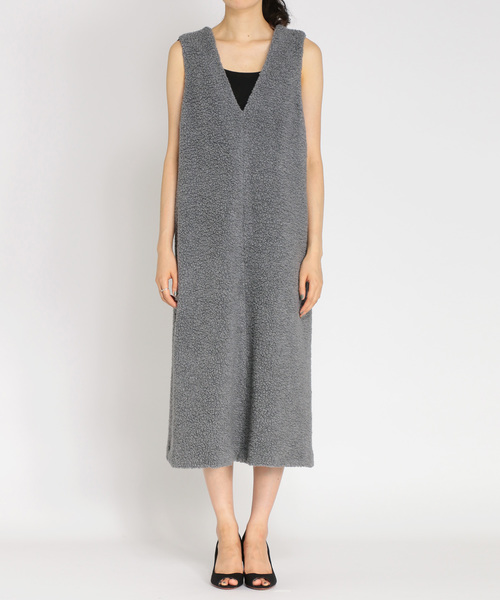 セール ワンピース moco】moco moco dress(もこもこバックリボン