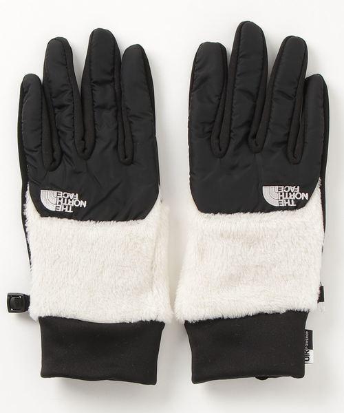 THE NORTH FACE(ザノースフェイス)の「THE NORTH FACE/ザ・ノース・フェイス Denali Etip Glove/デナリイーチップグローブ NN61525(手袋)」|ホワイト