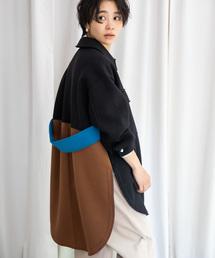 Eimee Law(エイミーロウ)の【Eimee Law】ボンディング配色シャツジャケット(その他アウター)
