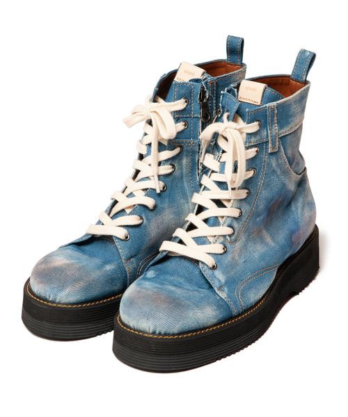 魅力的な Slinky denim boots boots// denim スリンキーデニムブーツ(ブーツ) glamb(グラム)のファッション通販, 【最安値挑戦!】:fffc69be --- skoda-tmn.ru
