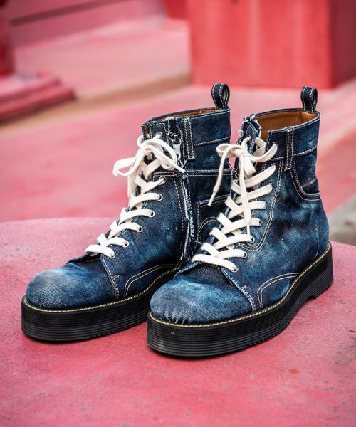 【送料込】 Slinky denim boots denim// スリンキーデニムブーツ(ブーツ) boots|glamb(グラム)のファッション通販, Joshin web 家電とPCの大型専門店:12203e71 --- skoda-tmn.ru