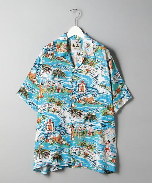 【別注】 <KONABAY HAWAII (コナベイ ハワイ)> LAND OF ALOHA/アロハシャツ