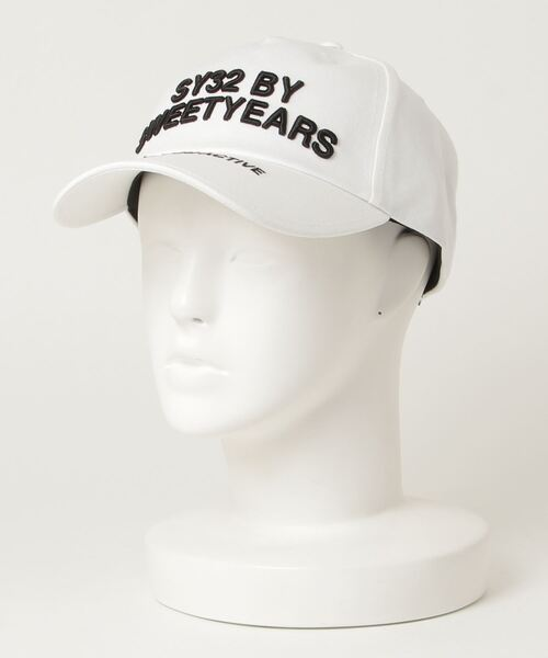 SY32 by SWEET YEARS(エスワイサーティトゥバイスィートイヤーズ)の「【SY32 by SWEET YEARS】TWILL CAP(LOGO)(キャップ)」 詳細画像