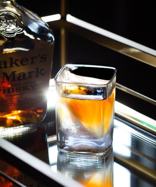 CORKCICLE(コークシクル)の「ウィスキーウェッジ [CORKCICLE/コークシクル](グラス/マグカップ/タンブラー)」 クリア