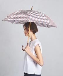 <Pradelle(プラデル)> ストライプ 晴雨兼用 傘 ◆