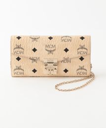【MCM】2つ折り財布-PATRICA 2FOLD LRG WALLET-(財布)