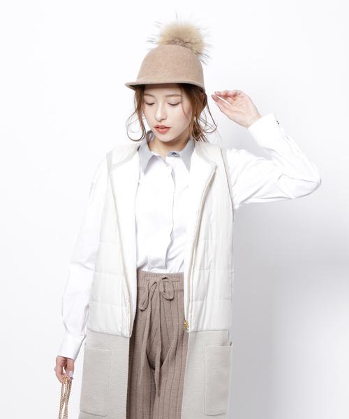 Re.Verofonna(ヴェロフォンナ)の「クレリックカラーシャツ(シャツ/ブラウス)」|ホワイト