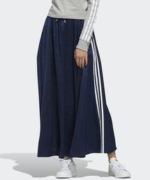 4533e3ac1a7f87 adidas Originals(アディダス オリジナルス)のロング サテン スカート [LONG SATIN SKIRT]