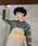 Dickies(ディッキーズ)の「【メンズ】メッシュポケット付きジャカードストラップオーバーオール(サロペット/オーバーオール)」|カーキ