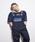 Dickies(ディッキーズ)の「【メンズ】メッシュポケット付きジャカードストラップオーバーオール(サロペット/オーバーオール)」|ダークネイビー