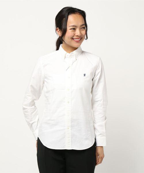 上質で快適 【Gymphlex】長袖ボタンダウンシャツ YOX WOMEN(シャツ/ブラウス) YOX|GYMPHLEX(ジムフレックス)のファッション通販, おめざめばざーる:bca3b63c --- wiratourjogja.com