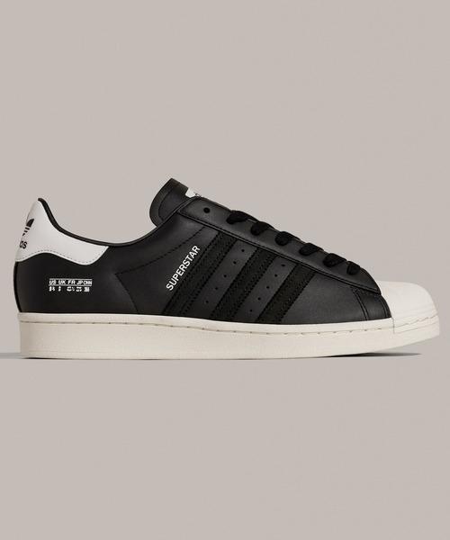 adidas(アディダス)の「スーパースター [Superstar] アディダスオリジナルス(スニーカー)」 ブラック×ブラック