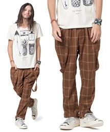 glamb(グラム)のSinmel suspenders pants / シンメルサスペンダーパンツ(その他パンツ)