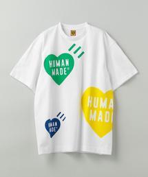 HUMAN MADE(ヒューマン メイド)BIG MULTI  HEART TEE■■■
