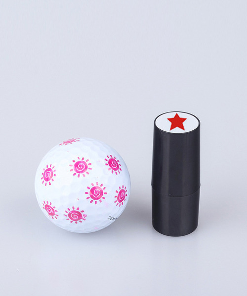 ゴルフボールスタンプ ボールマーカー