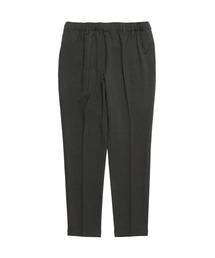 TAPERED EASY PANTSチャコール