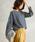 Pierrot(ピエロ)の「ビックシルエット ミニ裏毛 スウェットプルオーバー(Tシャツ/カットソー)」|詳細画像