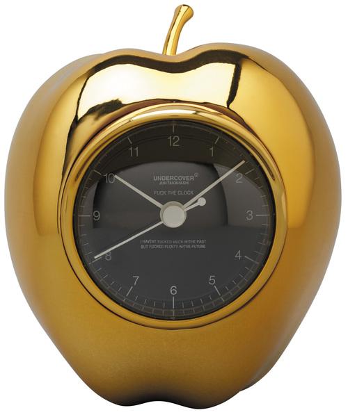 GOLDEN GILAPPLE CLOCK