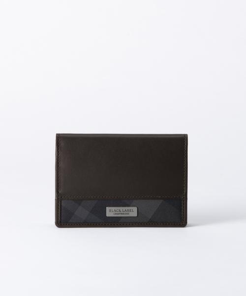 数量は多 トーナルクレストブリッジチェック カードケース(財布)/ LABEL|BLACK BLACK LABEL CRESTBRIDGE(ブラックレーベル・クレストブリッジ)のファッション通販, かいこの王国:138dcf68 --- skoda-tmn.ru