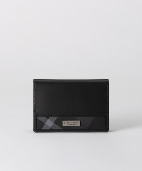 トップ トーナルクレストブリッジチェック カードケース(財布)|BLACK LABEL BLACK LABEL LABEL CRESTBRIDGE(ブラックレーベル・クレストブリッジ)のファッション通販, ケンタウロス:ce6a3785 --- skoda-tmn.ru
