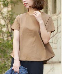 le.coeur blanc(ルクールブラン)のフレアTシャツ(Tシャツ/カットソー)