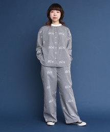 PAR ICI(パーリッシィ)のPAR ICI × 平山 昌尚 さかなプリント イージーパンツ(パンツ)