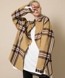 AIVER(アイバー)のCASPER JOHN AIVER EXPANDED CHECK PATTERN SHIRTS/MADE IN JAPAN(シャツ/ブラウス)