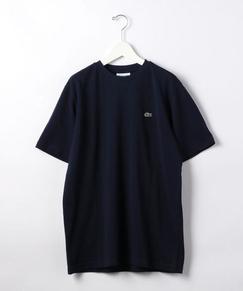 [ ラコステ ] SC LACOSTE カノコ クルーネック カットソー / Tシャツ