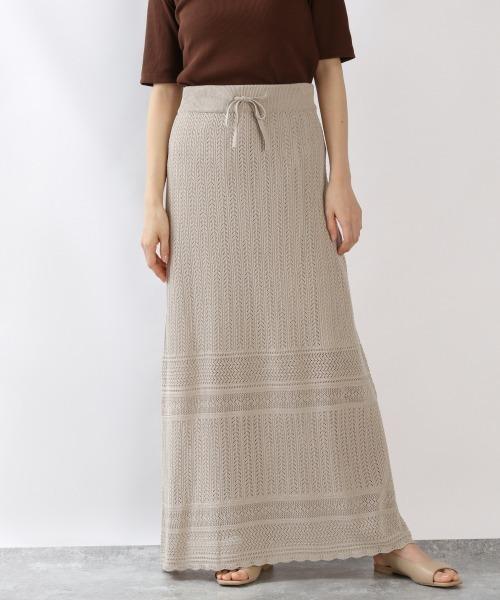 LOWRYS FARM(ローリーズファーム)の「スカシアミニットスカート2 875135(スカート)」|グレー
