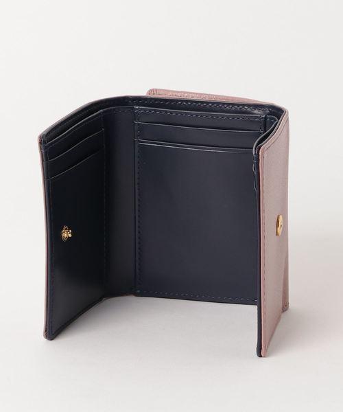 【雑誌掲載】STモチーフ ラメ折財布【3年保証対象】
