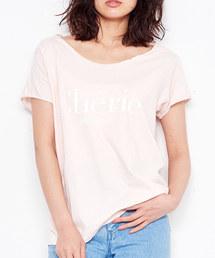 MAISON DE REEFUR(メゾンドリーファー)のメッセージ Tシャツ(Tシャツ/カットソー)