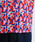 merlot(メルロー)の「カクカクヨット柄ボウタイ付ブラウス1537(シャツ/ブラウス)」|詳細画像