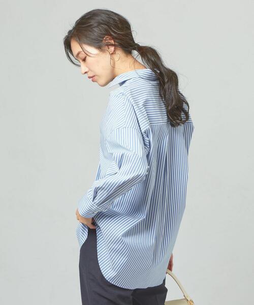 <yangany>ビッグシルエット レギュラーカラーシャツST
