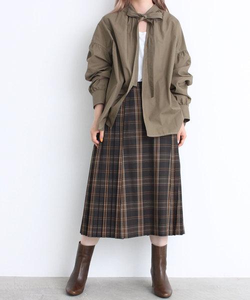 【オープニング大セール】 duチェック プリーツスカート(スカート)|didizizi(ディディジジ)のファッション通販, 自然素材の森:098d648d --- tsuburaya.azurewebsites.net