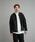 Steven Alan(スティーブンアラン)の「<Steven Alan> 8WALE CORDUROY STAND COLLAR COVERALL/カバーオール(カバーオール)」|ダークグレー