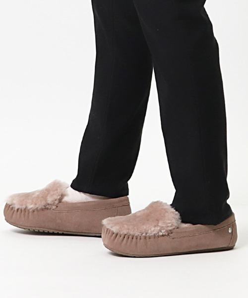 【 EMU / エミュ 】#  モカシン シープスキン ムートン / Cairns Reverse Fur W11705