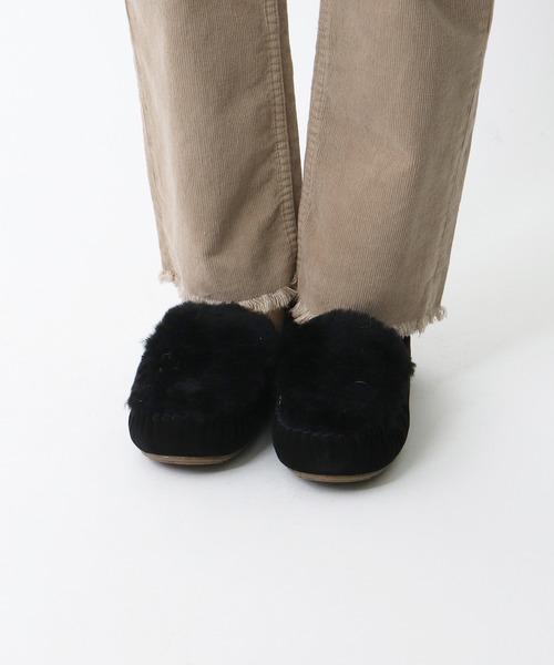 【 EMU / エミュ 】# Cairns Reverse Fur W11705