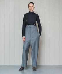 <H>∴TORO SUSPENDER PANTS/パンツ