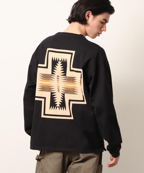 【 PENDLETON / ペンドルトン 】 PENDLETON UNISEX Back Print Long Sleeve ペンドルトン ユニセックス ロングスリーブTシャツ ・・