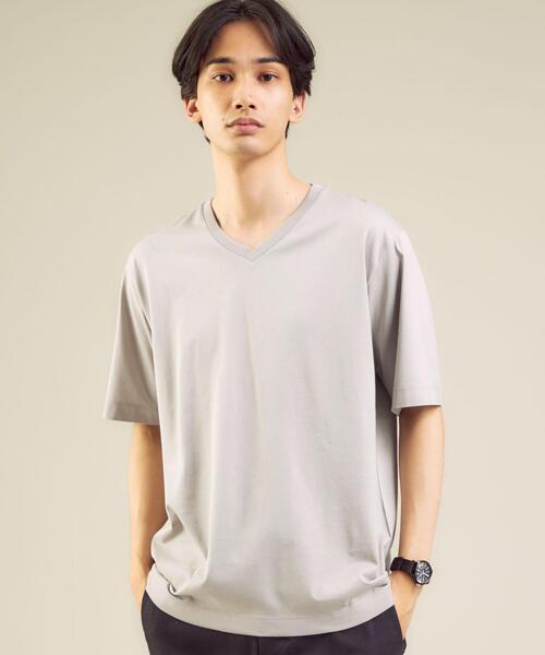 CM オーガニック クリア Vネック 半袖カットソー / Tシャツ #