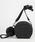 DRESSCAMP(ドレスキャンプ)の「TRIANGULAR スタッズ2WAYデニムラウンドショルダーバッグ/ポシェット(ショルダーバッグ)」|ブラック