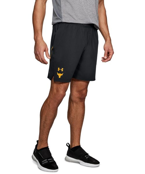 Grey Under Armour Cage Mens Training Shorts