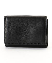 MONO COMME CA(モノコムサ)の牛革 三つ折り ウォレット(財布)