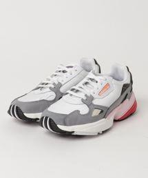 adidas(アディダス)の「adidas アディダス ADIDASFALCON W アディダスファルコン CG6214 19SP ABC-MART限定 WHT/WHT(スニーカー)」