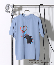 MEN'S MELROSE(メンズ メルローズ)のプリントTシャツ バンクシーLOVE RAT(Tシャツ/カットソー)
