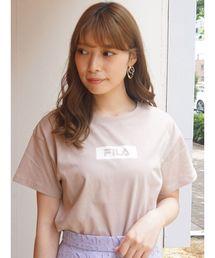 MERCURYDUO(マーキュリーデュオ)の【FILA MERCURYDUO別注】BOXロゴTシャツ(Tシャツ/カットソー)